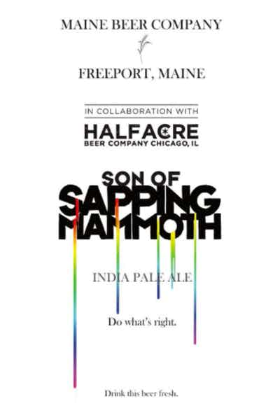 Maine Beer Son Of Sapping Mammoth