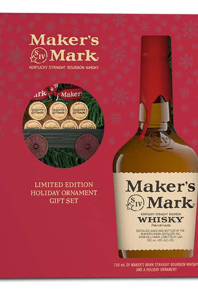 Maker's Mark Distillery Wagon Ornament Limited Edition Gift Set