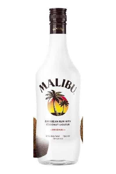 Malibu Coconut Rum W/Dole