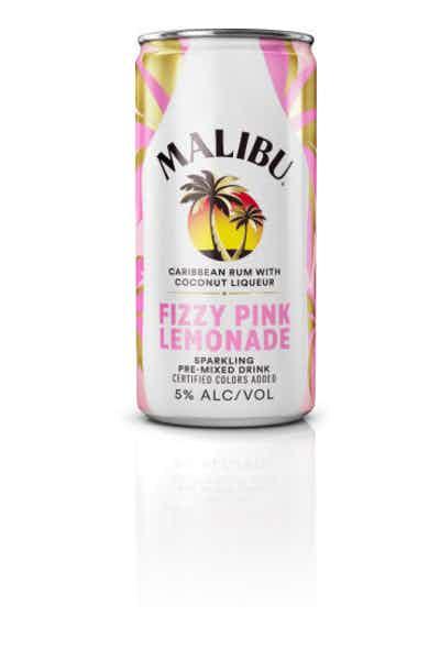 Malibu Fizzy Pink Lemonade Rtd Cn