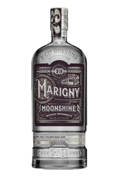 Seven Three Distilling Marigny Moonshine Whiskey