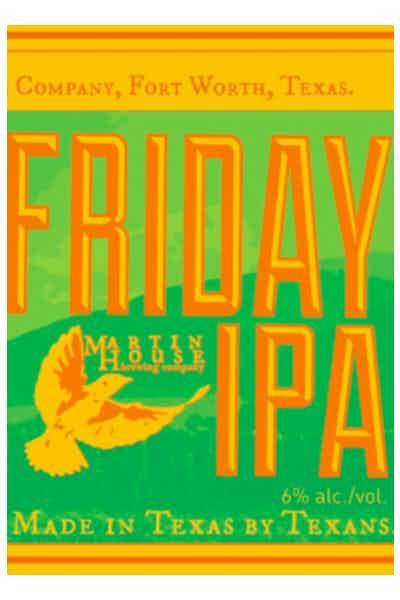 Martin Brewing Friday IPA