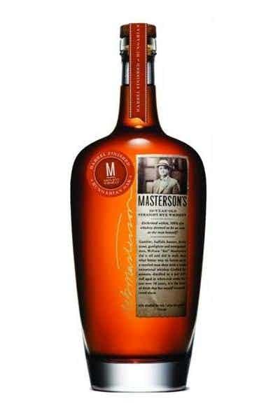 Masterson's Hungarian Oak Straight Rye Whiskey 10 Year