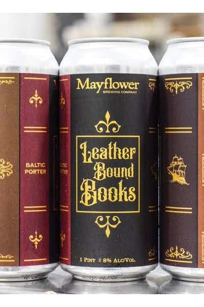 Mayflower Leather Bound Books
