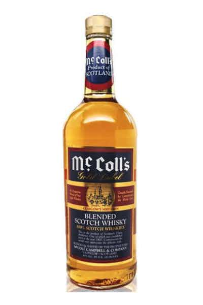 McColl's Gold Label Blended Scotch Whiskey