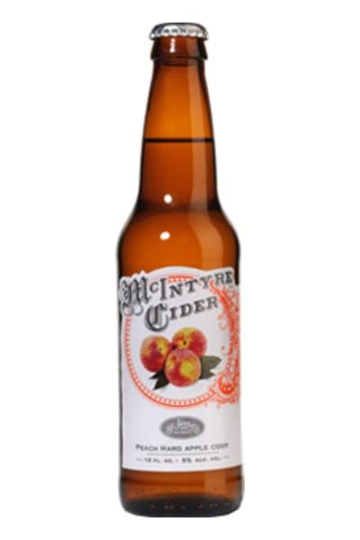 McIntyre Peach Hard Apple Cider