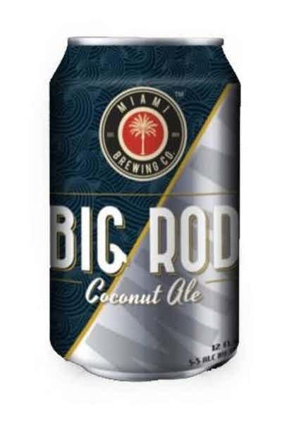 Miami Brewing Big Rod Coconut Blonde Ale