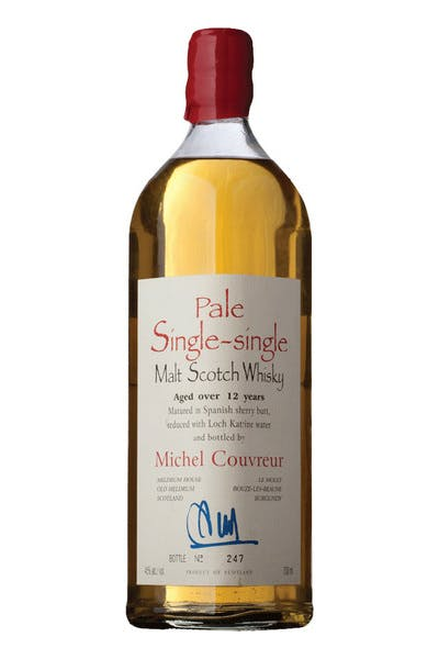 Michel Couvreur Pale Single Single Malt Scotch Whisky