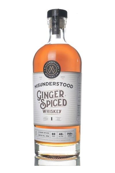 Misunderstood Ginger Spiced Whiskey