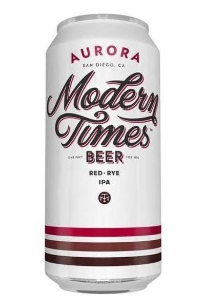 Modern Times Aurora Red Rye IPA