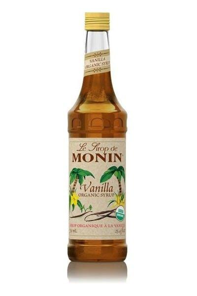 Monin Premium Organic Vanilla Syrup