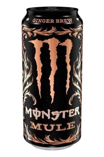 Monster Mule Ginger Brew Energy Drink