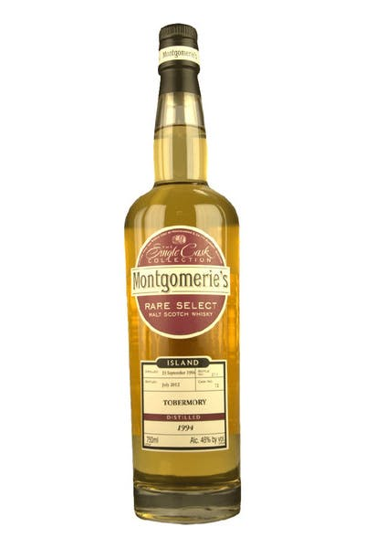 Montgomerie's Tobermory Single Malt Scotch Whisky