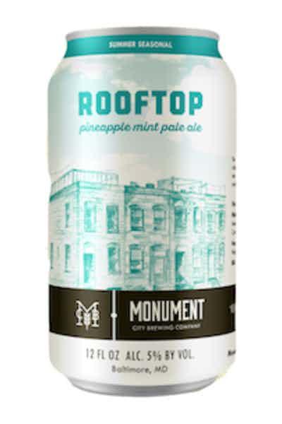 Monument City Rooftop Pineapple Mint Pale Ale