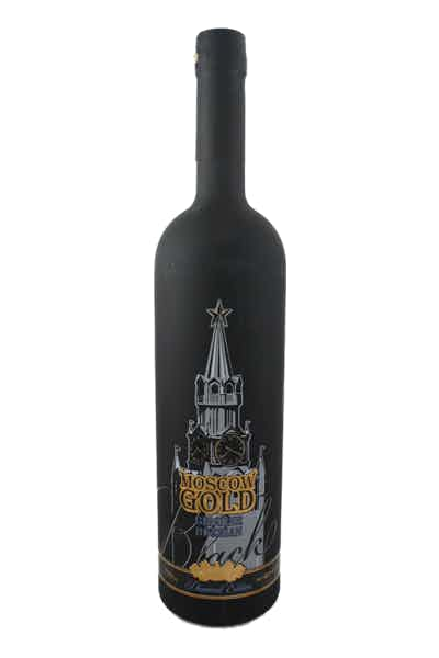 Moscow Gold Black Diamond Vodka
