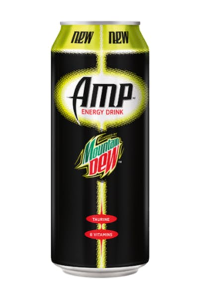 Mountain Dew Amp Energy Drink