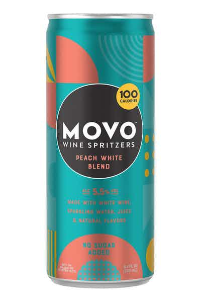 MOVO Peach White Blend Wine Spritzers