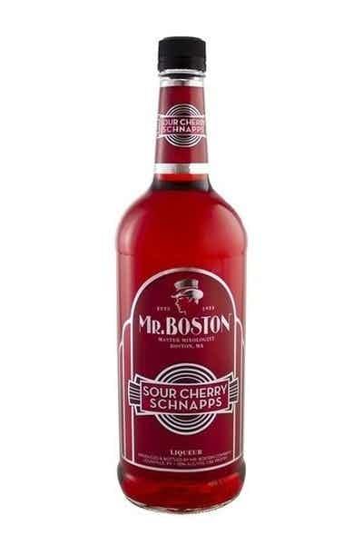 Mr Boston Sour Cherry Schnapps