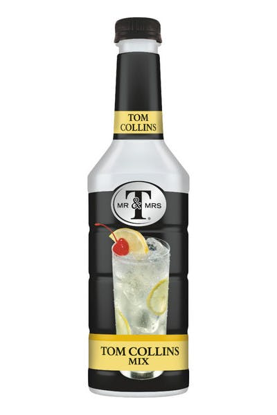 Mr & Mrs T Tom Collins Mix