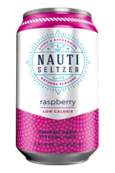 Nauti Seltzer Raspberry