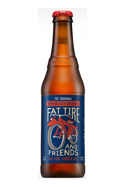 New Belgium Fat Tire & Friends