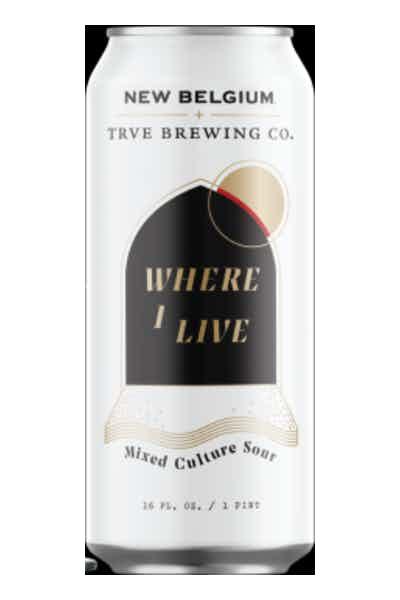 New Belgium Where I Live Wild Ale