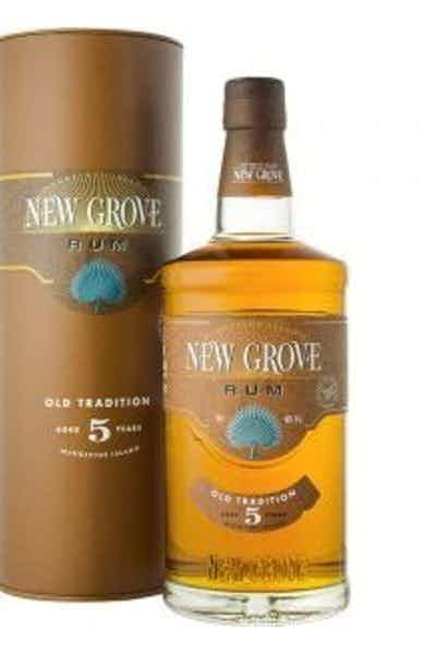 New Grove Old Tradition Rum 5 Year
