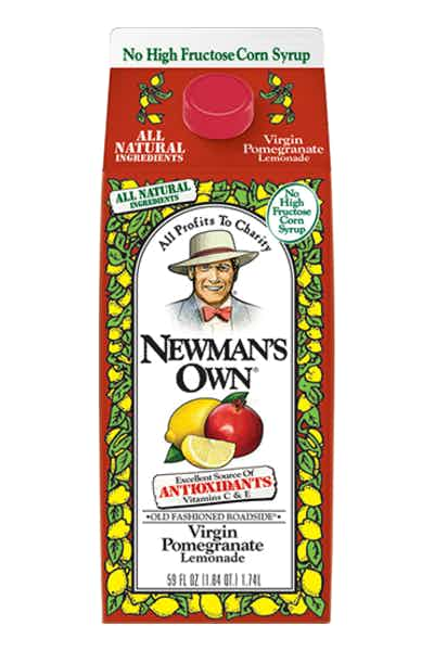 Newman's Own Pomegranate Lemonade