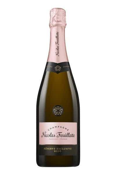Champagne Nicolas Feuillatte Rose Reserve Exclusive