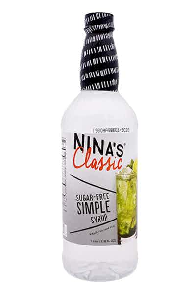 Nina's Classic Simple Syrup Sugar Free