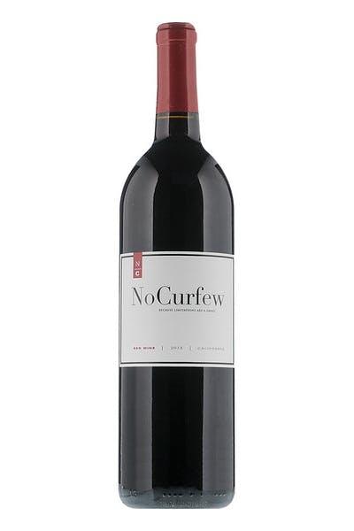 No Curfew Red Wine
