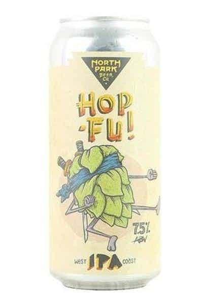 North Park Hop Fu! West Coast IPA