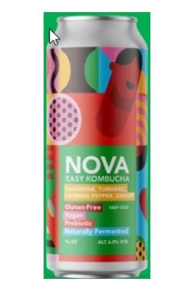 Nova Easy Kombucha - Tangerine & Cayenne Pepper