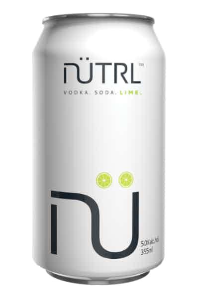 Nutrl Vodka Soda Lime