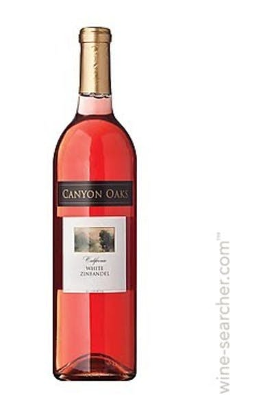 Oak Vineyards White Zinfandel 2012