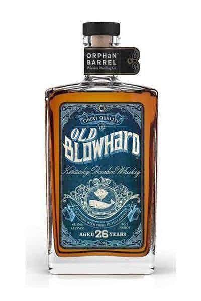 Old Blowhard Bourbon 26 Year