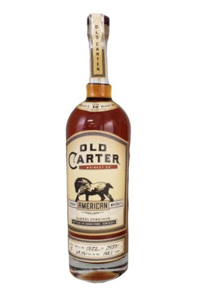 Old Carter 12 Year Straight American Whiskey, Batch 3
