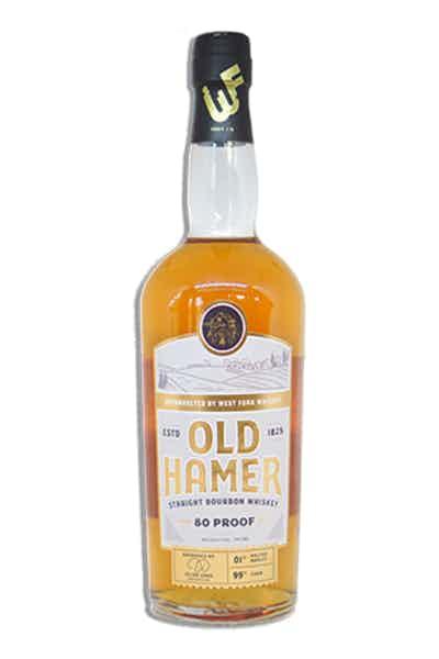 Old Hamer Straight Bourbon Whiskey 80 Proof