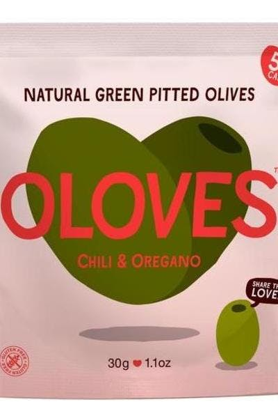 Oloves Chili & Oregano Olive Snacks