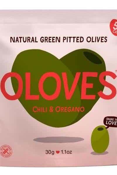 Oloves Chili & Oregano Olive Snacks