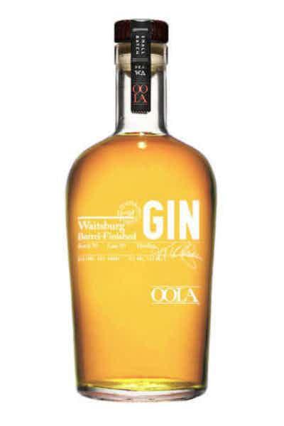 Oola Waitsburg Barrel Finished Gin