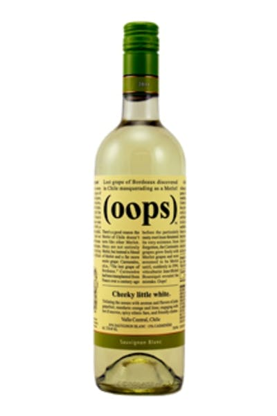(Oops) Cheeky Little White Sauvignon Blanc