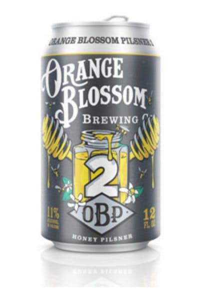 Orange Blossom Squared Honey Pilsner