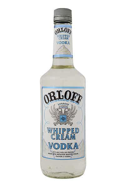 Orloff Whipped Cream Low Proof