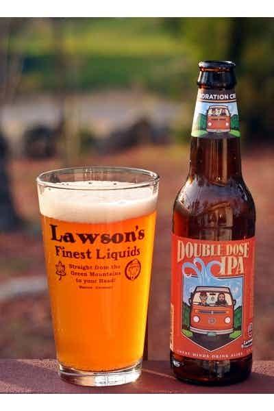 Otter Creek & Lawson's Double Dose IPA