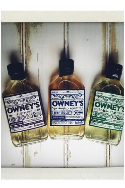 Owney's White Rum Rosemary