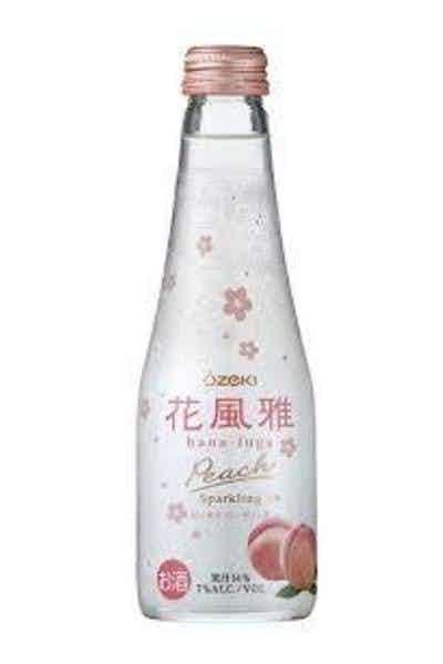 Ozeki Hana Fuga Peach Sparkling Sake