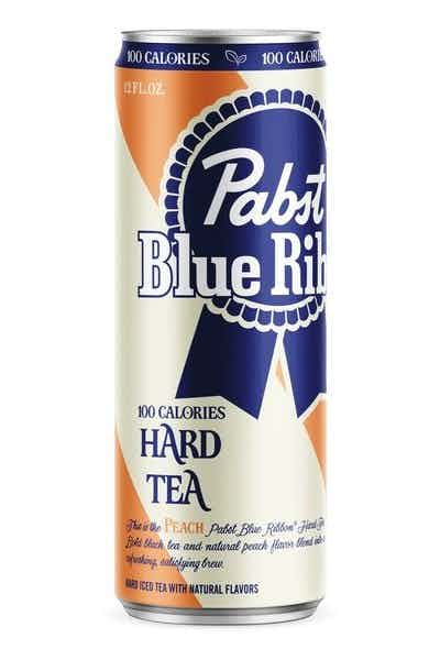 Pabst Blue Ribbon Hard Tea Peach