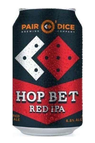 Pair O' Dice Hop Bet Red IPA