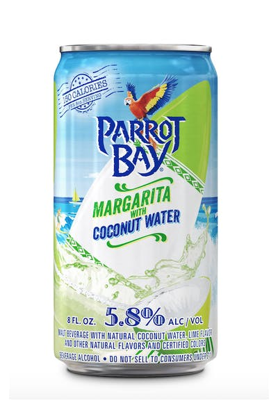 Parrot Bay Margarita with Coconut Water